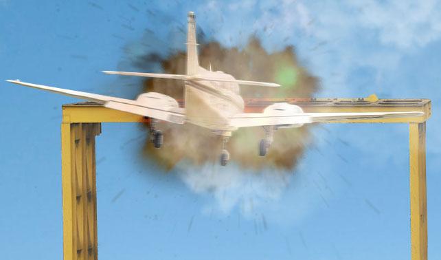 Luego de subir puente de Los Ruices 45 metros, aviones comienzan a chocarlo
