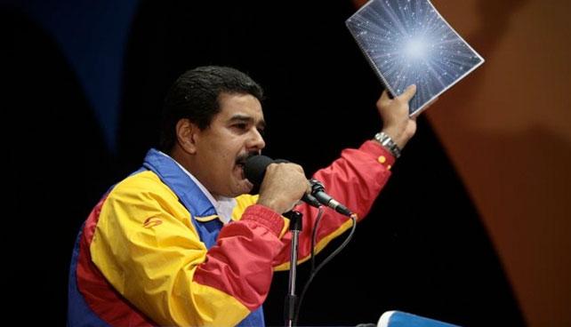 Maduro culpa al Big-bang por crear territorio llamado Venezuela con tantos problemas