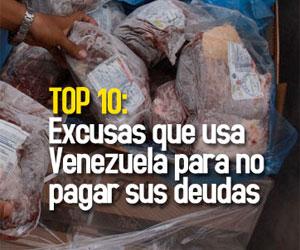 Top Bipolar: Excusas que usa Venezuela para no pagar sus deudas