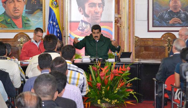 Maduro realiza diálogo con opositores donde igual no les prestará atención
