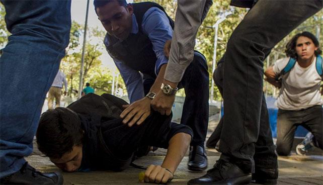 Gobierno gana batalla al hampa deteniendo a ciudadanos inocentes