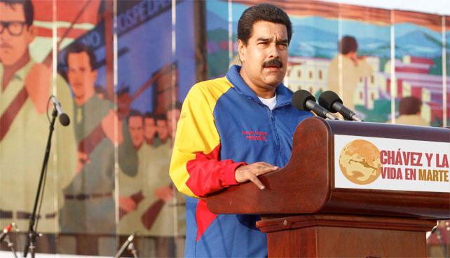 Gobierno celebra 3 años del día que Chávez dijo que había vida en Marte