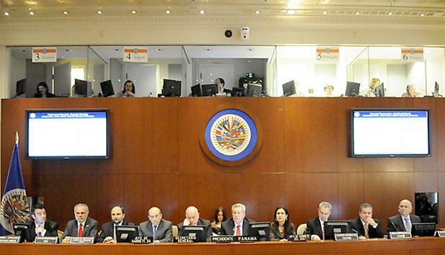 OEA acuerda por unanimidad pedir comida china
