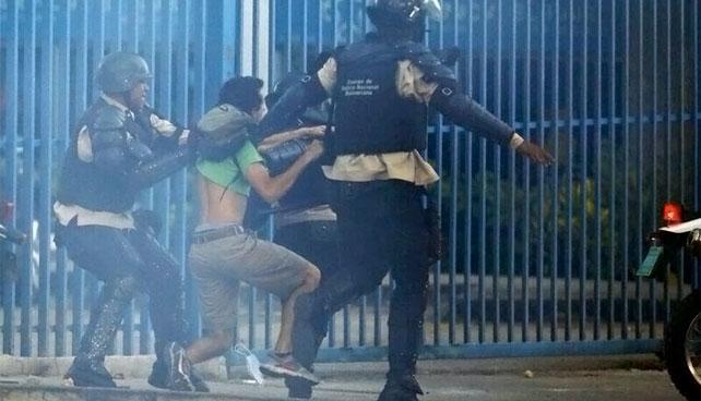 Manifestante detenido por la Policía Nacional sería el que robó más de $20.000 millones con Cadivi