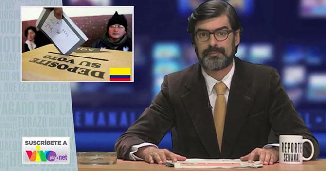 Reporte Semanal - A propósito de las elecciones en Colombia
