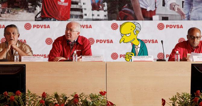 PDVSA firma acuerdo con el Sr Burns