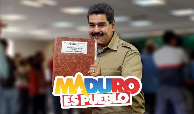 Los nuevos afiches de la campaña Maduro es Pueblo