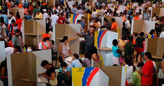 Colombia celebra elecciones mariquitas sin motorizados ni fraude ni nada
