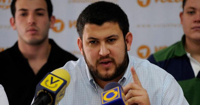 Smolansky secretamente feliz que Maduro sepa su nombre