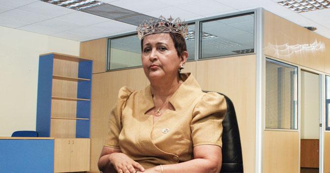 Infanta Tibisay Lucena es coronada en un acto sencillo para no molestar a nadie