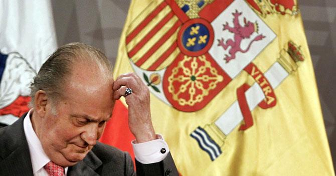 Dios decide que sucesor de Rey Juan Carlos sea joven español desempleado
