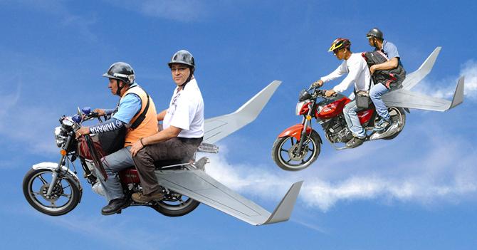 Mototaxis con alas solucionarían crisis de aerolíneas
