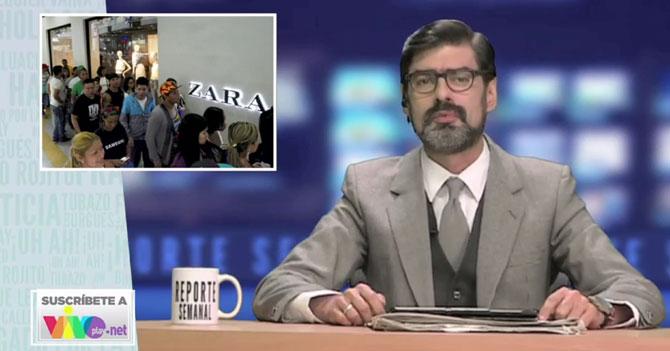 Reporte Semanal - Briceño habla sobre las colas en Zara y Bershka