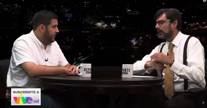 Reporte Semanal - Briceño entrevista a David Smolansky
