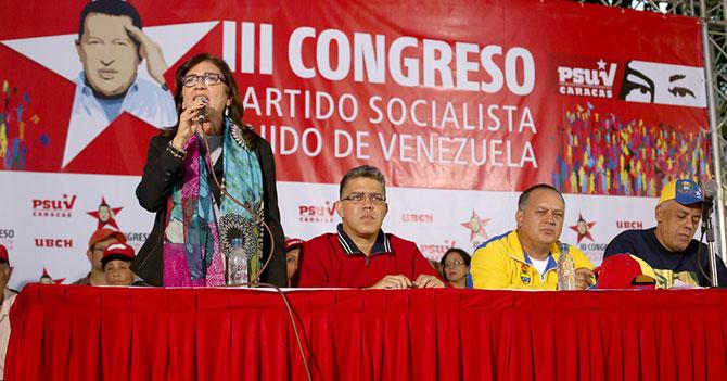 Congreso de PSUV debate si Chávez era galáctico o celestial