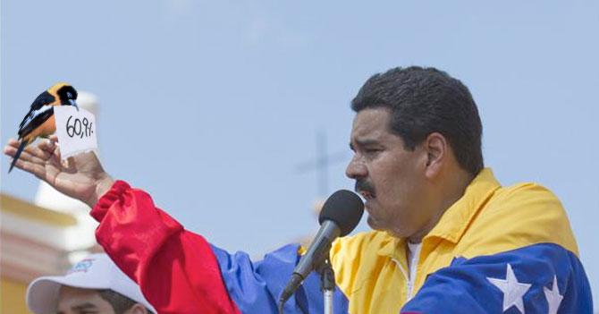 Jovial Maduro cuenta que se le apareció UNA INFLACIÓN DEL 60.9%!!!!