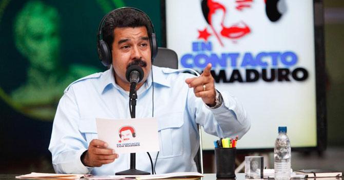 Maduro anuncia que nuevamente te hizo perder una tarde como un pajuo