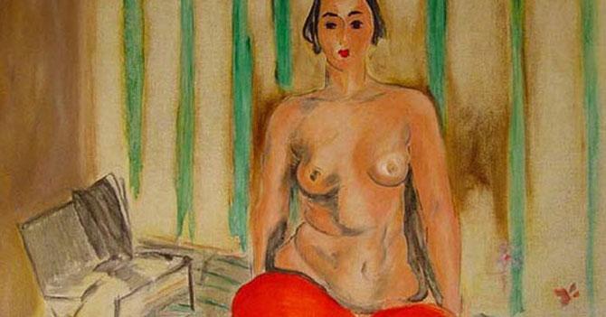 Odalisca de Matisse regresa al país y pide visa para volver a EEUU