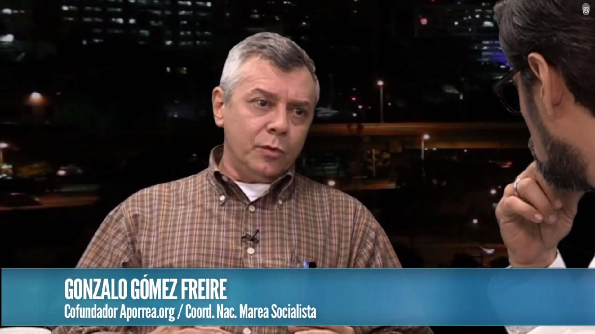 Briceño entrevista a Gonzalo Gómez (Fundador de Aporrea) - Reporte Semanal
