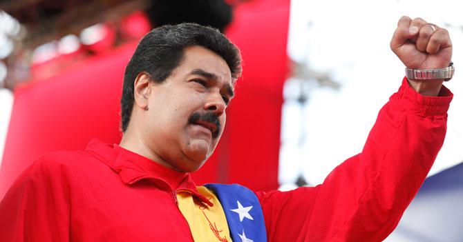 Maduro promete cambiar su nombre a Chávez si en un año aún hay niños en la calle