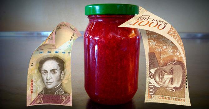 Bolívar Fuerte pide a peso colombiano que le abra pote de mermelada