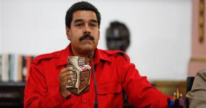 Maduro toma Rikomalt sin pagar y se arrecha porque se lo cobran