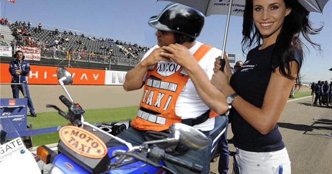 Moto-taxista venezolano arrasa en Moto-GP
