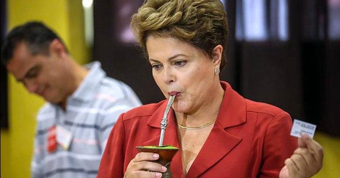Dilma le gana 7 a 1 a los ciudadanos brasileños