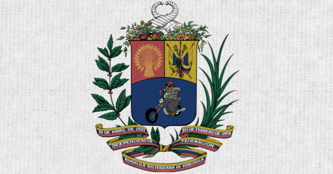 Colectivos exigen a Maduro cambiar el caballo del escudo por una moto