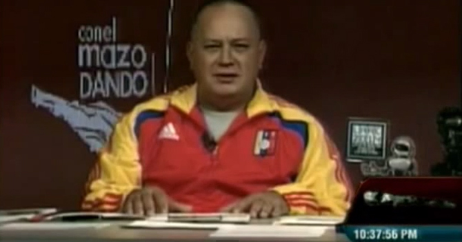 Diosdado mira fijamente la cámara de su programa durante 45 horas consecutivas