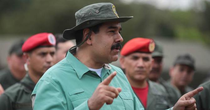 Maduro adelanta las navidades de 2017