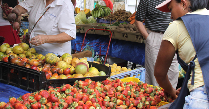 Mintur activa paseo para que ciudadanos del interior hagan mercado en Caracas