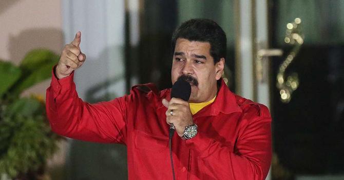 Maduro anuncia que le robaron las pruebas que tenía y asegura que tiene las pruebas