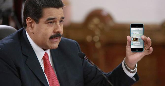 Ley de Ciberterrorismo obliga a Maduro a entrar a tus grupos de Whatsapp
