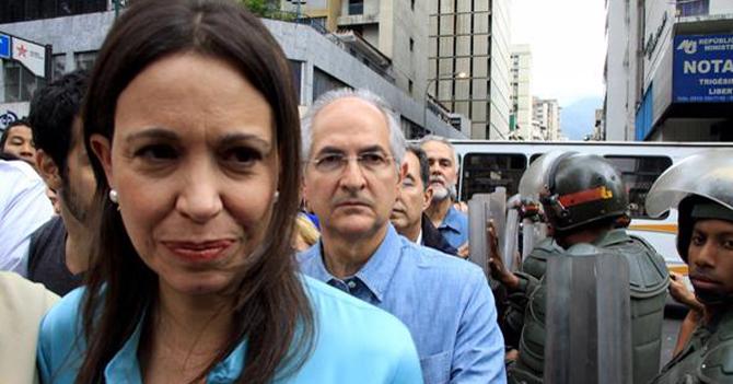 María Corina imputada por Conspira... no, no, traición a la Pa... no, mejor... Magnicidio
