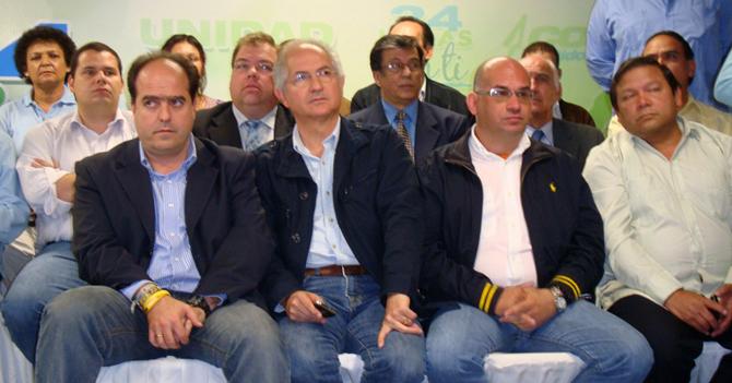 Oposición planea hacer visita oficial a Venezuela en 2015