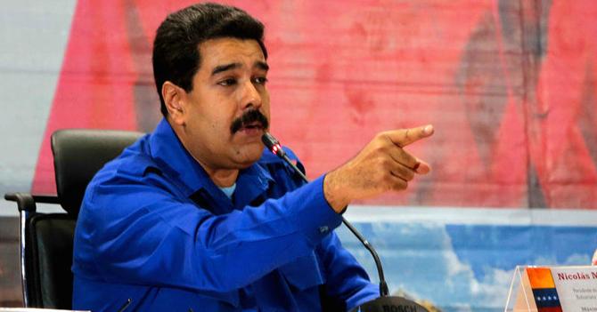 Maduro acusa a Estados Unidos de sancionar a todos los 0,00001% de los venezolanos