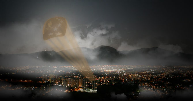 Capriles lanza al cielo la Capri-señal