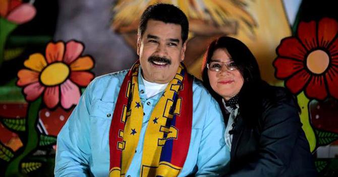 Maduro tiene un 70% de apoyo popular de Cilia