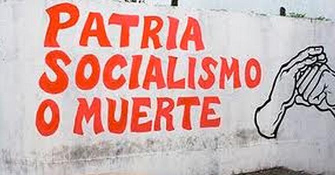 """Imbécil ya entiende lo que significa el """"muerte"""" de """"patria, socialismo o muerte"""""""