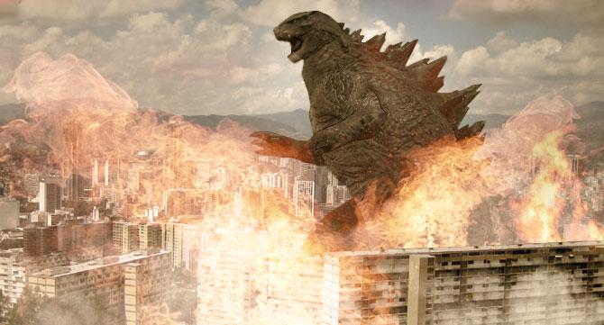 """""""Nada puede estar peor"""" dice venezolano antes de ser atacado por Godzilla"""