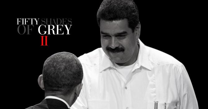 Estados Unidos y Venezuela protagonizarán segunda parte de las 50 sombras de Grey