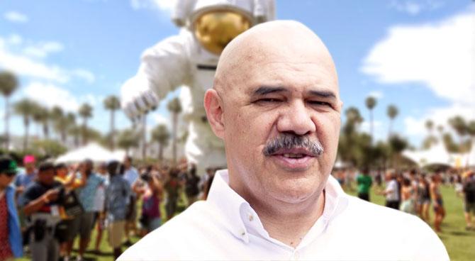 Oposición venezolana reaparece en festival Coachella