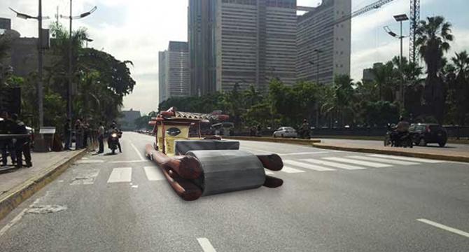 Nuevo Corolla 2015 para Venezuela trae troncos en lugar de cauchos