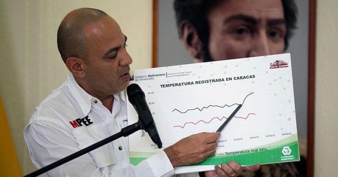 Jesse Chacón anuncia plan de racionamiento de calidad de vida