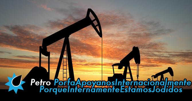 Venezuela crea PETROPorfaApoyanosInternacionalmente PorqueInternamenteEstamosJodidos