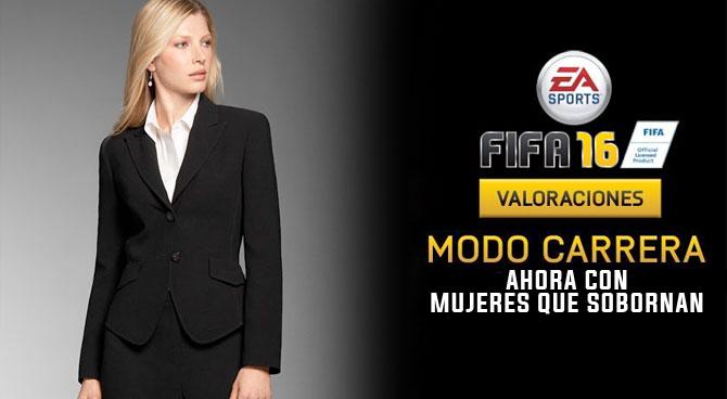 Feministas exigen a EA SPORTS también incluir mujeres corruptas en FIFA 16