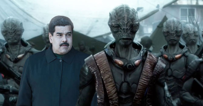 Maduro viaja a Saturno a pedirle dinero a los Xorlag