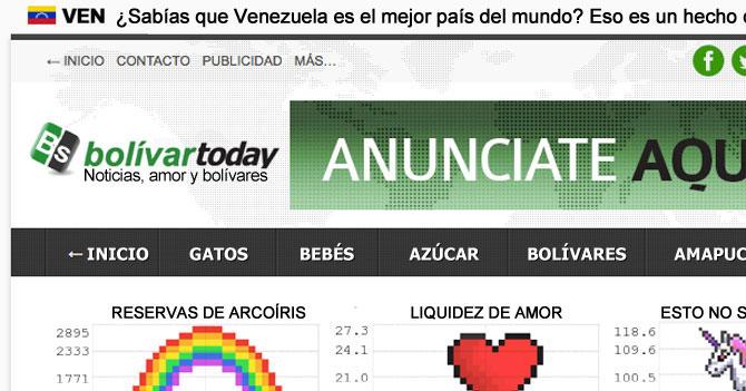 Maduro revisa página de Bolívar Today y ve todo bien