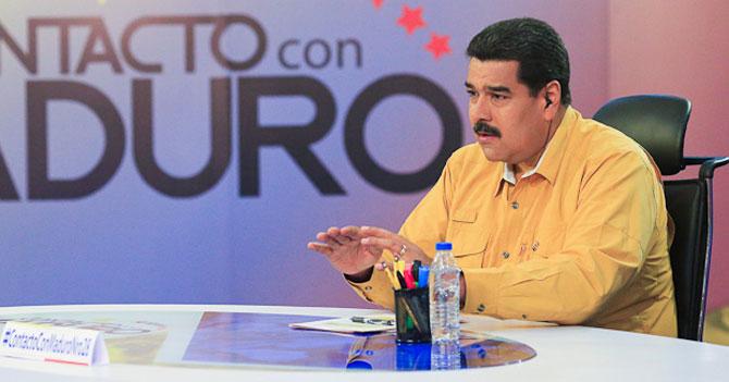 Maduro descubre el agua tibia. Literalmente, ayer la descubrió. No sabía lo que era